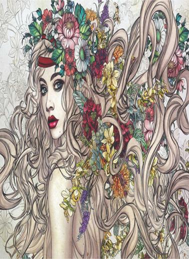 Anatolian  1500 Parça Çiçeklerin Gücü 4549 Renkli